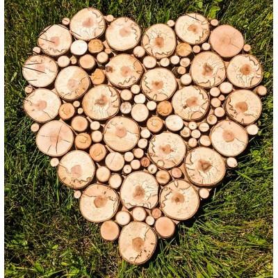 Coeur rondelles personnalisable