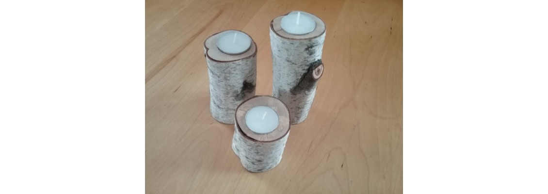 Candle holders trio